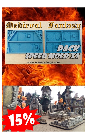 Pack Medieval x2 Speed Mold