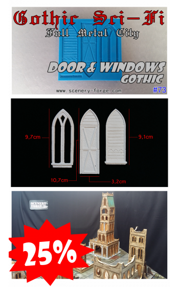 Door & Windows Gothic Sci-Fi
