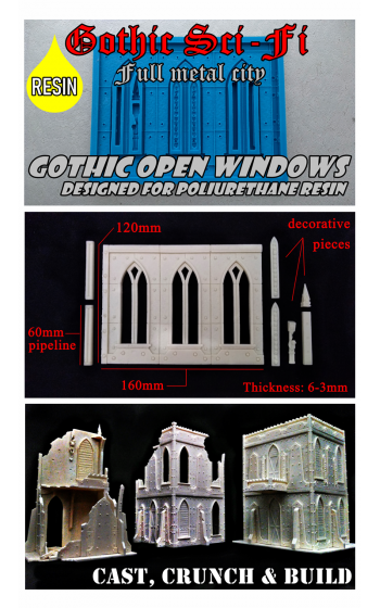 Gothic sci-fi open windows R74